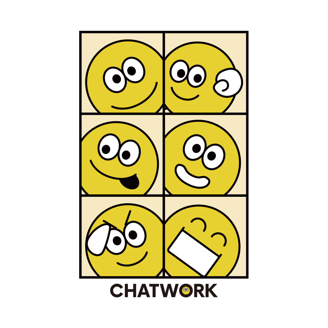 Emoji ポストカード(10枚セット)