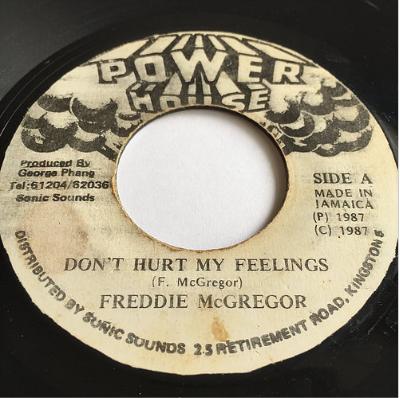 Freddie McGregor (フレディーマクレガー) - Don't Hurt My Feelings【7'】
