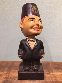 FREEMASON BOBBLE HEAD 1960's