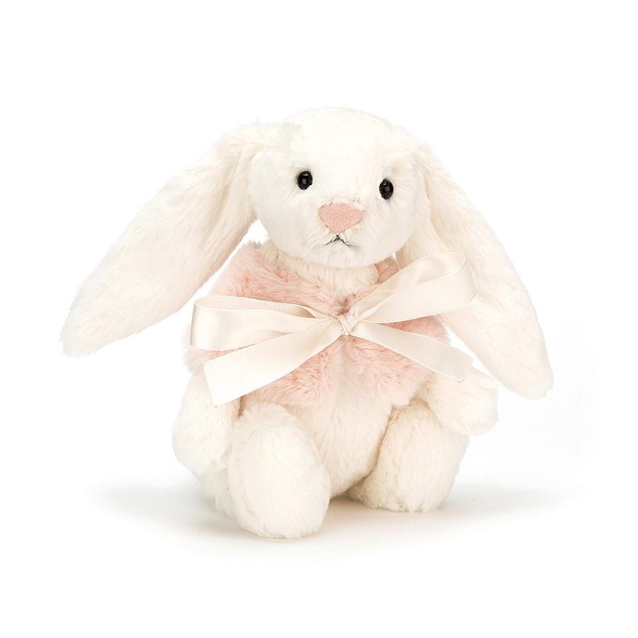 Bashful Cream Snow Bunny Small_BASS4CS