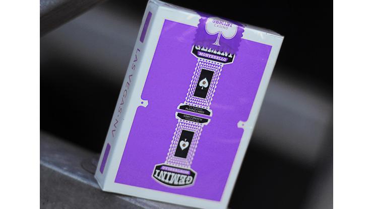 Gemini Casino Purple Playing Cards by Gemini
