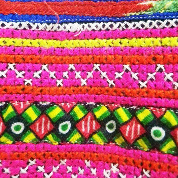 モン族刺繍ベスト