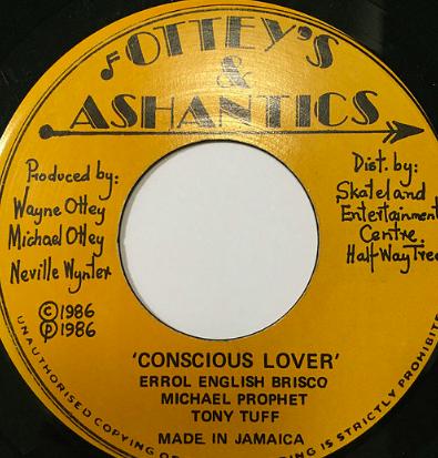 Michael Prophet(マイケルプロフェット) & Tony Tuff(トニータフ) - Conscious Lover【7'】
