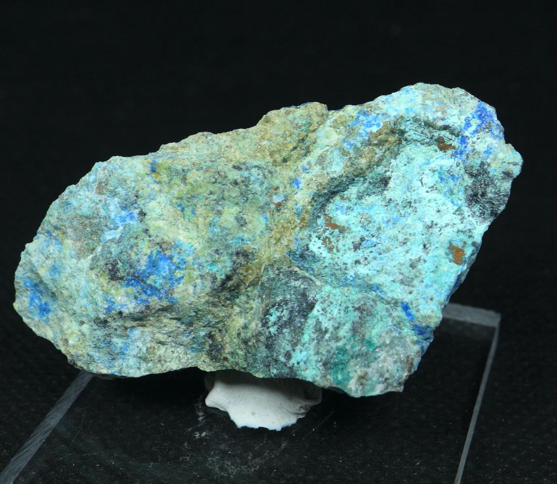 リナライト & カレドナイト 青鉛鉱 カレドニア石 39g LN028 鉱物 原石 天然石 パワーストーン