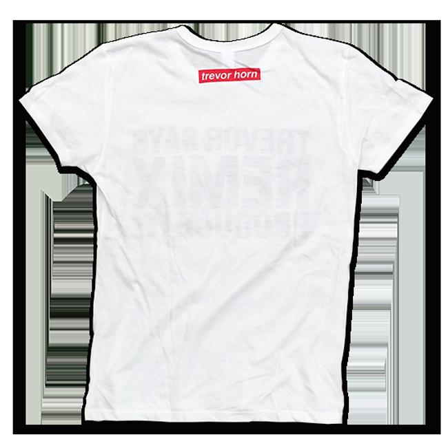 TREVOR HORN REMIX Tシャツホワイト - 画像2