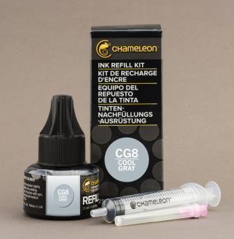 Chameleon Pen Ink Refill 25ml Cool Gray CG8 (カメレオンペン 詰替え用インク CG8)