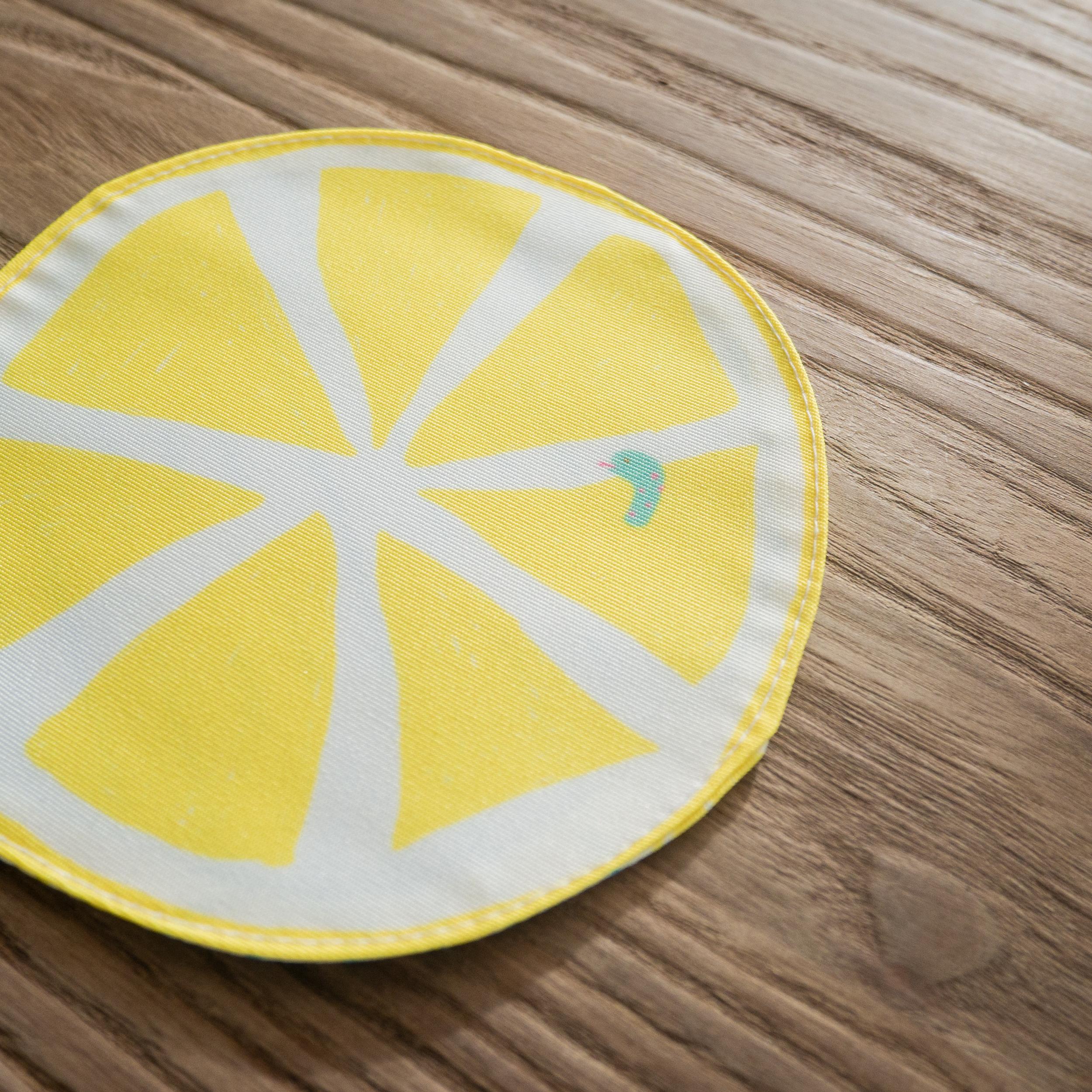 コースター 爽やかレモン