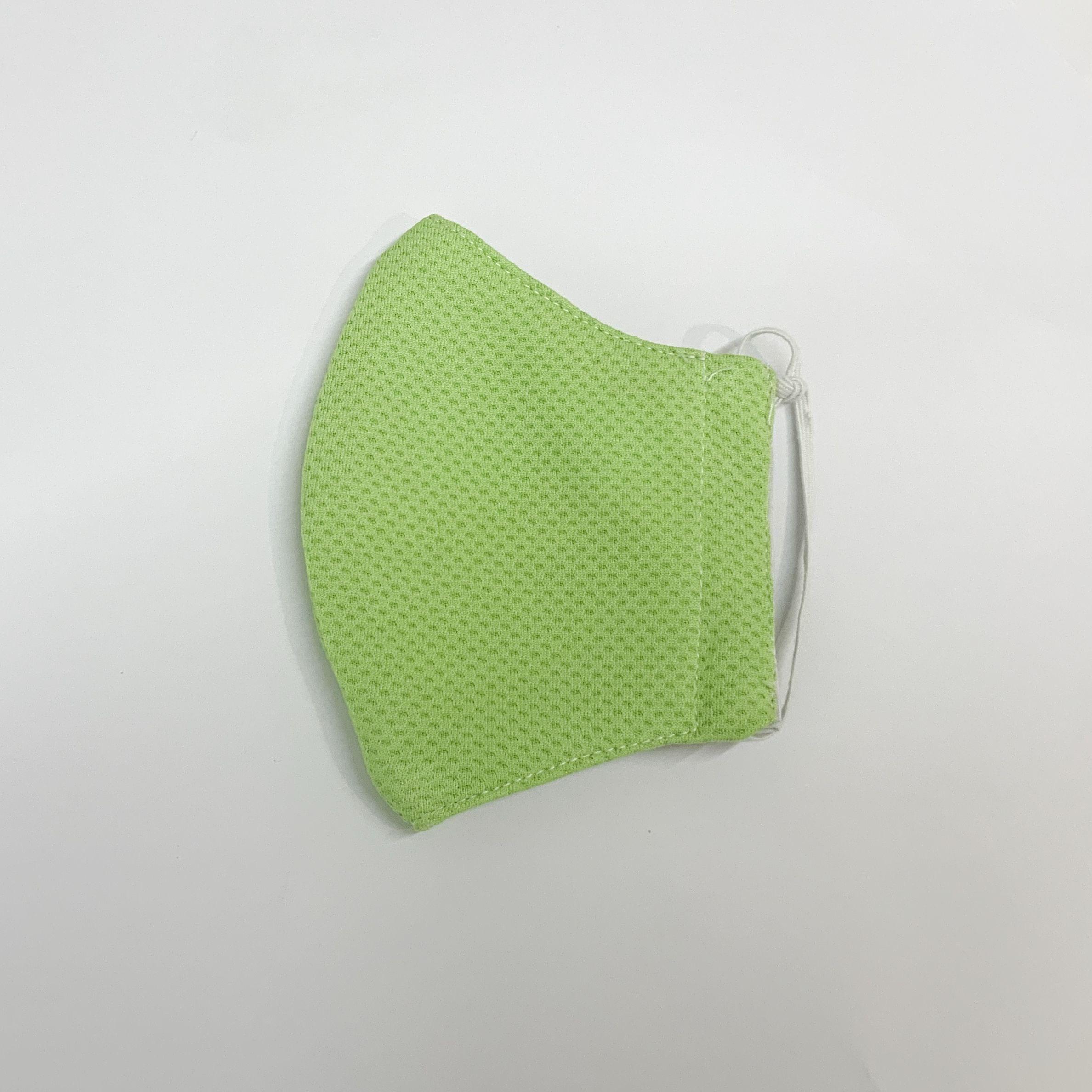 手作りマスク(緑)Mサイズ