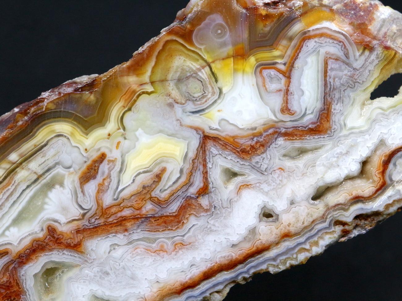 ラグナレースアゲート メキシコ産 瑪瑙 119,1g AG045 原石 鉱物 標本 天然石 パワーストーン