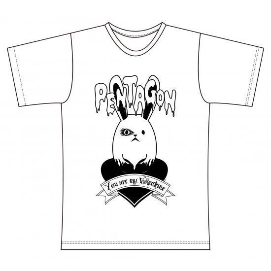 ペンタゴン ヴァレンタインTシャツ