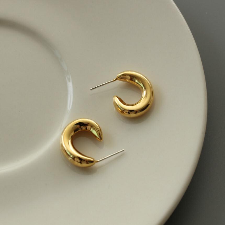 c curl pierce gold