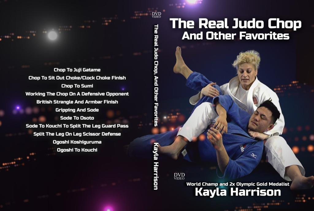 ケイラ・ハリソン THE REAL JUDO CHOP AND OTHER FAVORITES(本物の柔道チャンピオンのお気に入りの技)