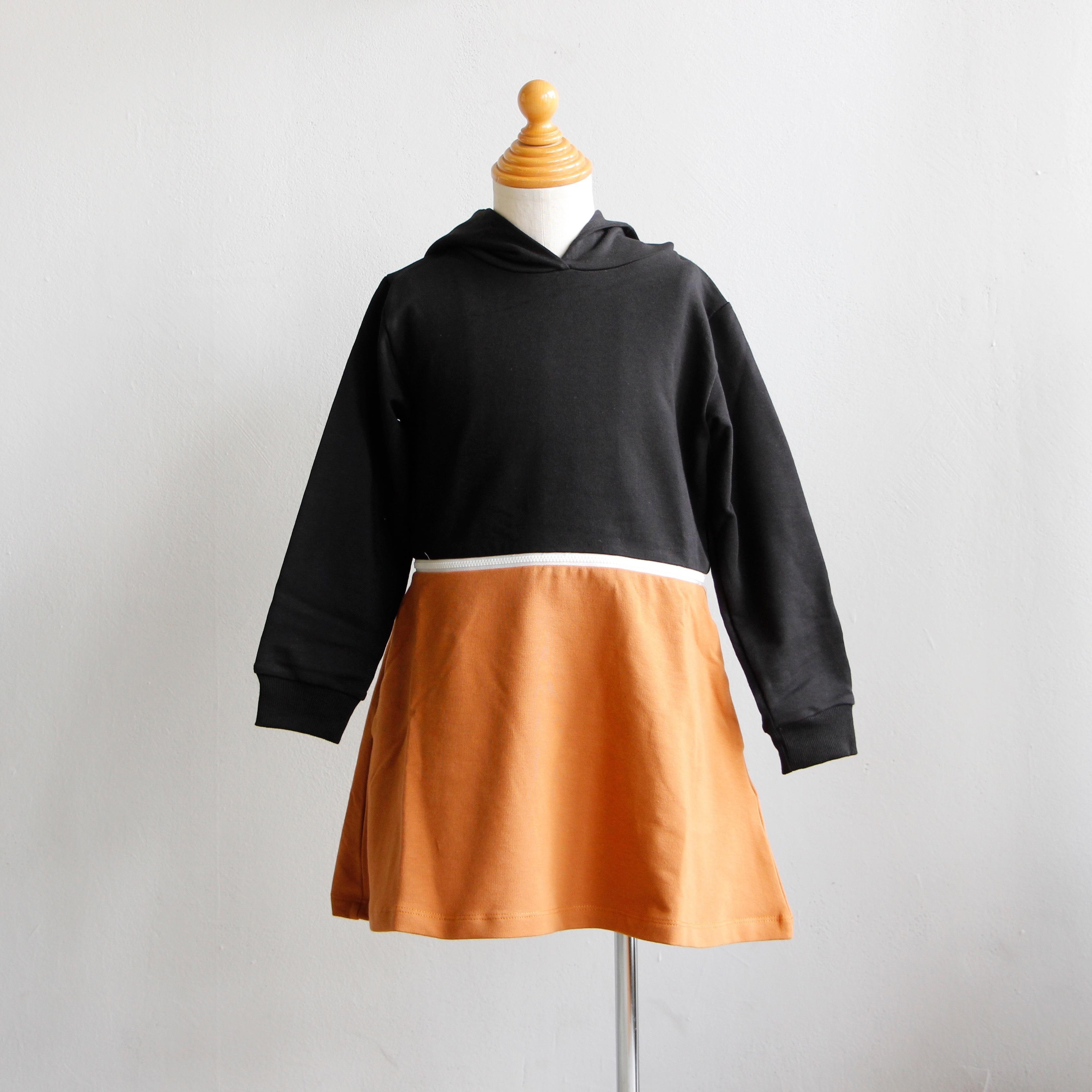 《WAWA 2019AW》HELLO DRESS / brown × black