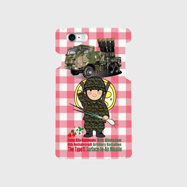 キャンプ北熊本第8高射特科大隊スマホケースGL