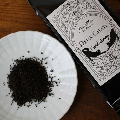 Earl Grey100g Deux Chats 紅茶リーフ