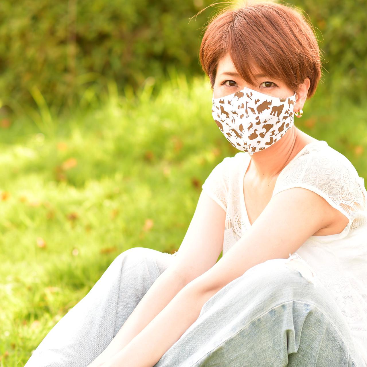 Animal プリントマスク