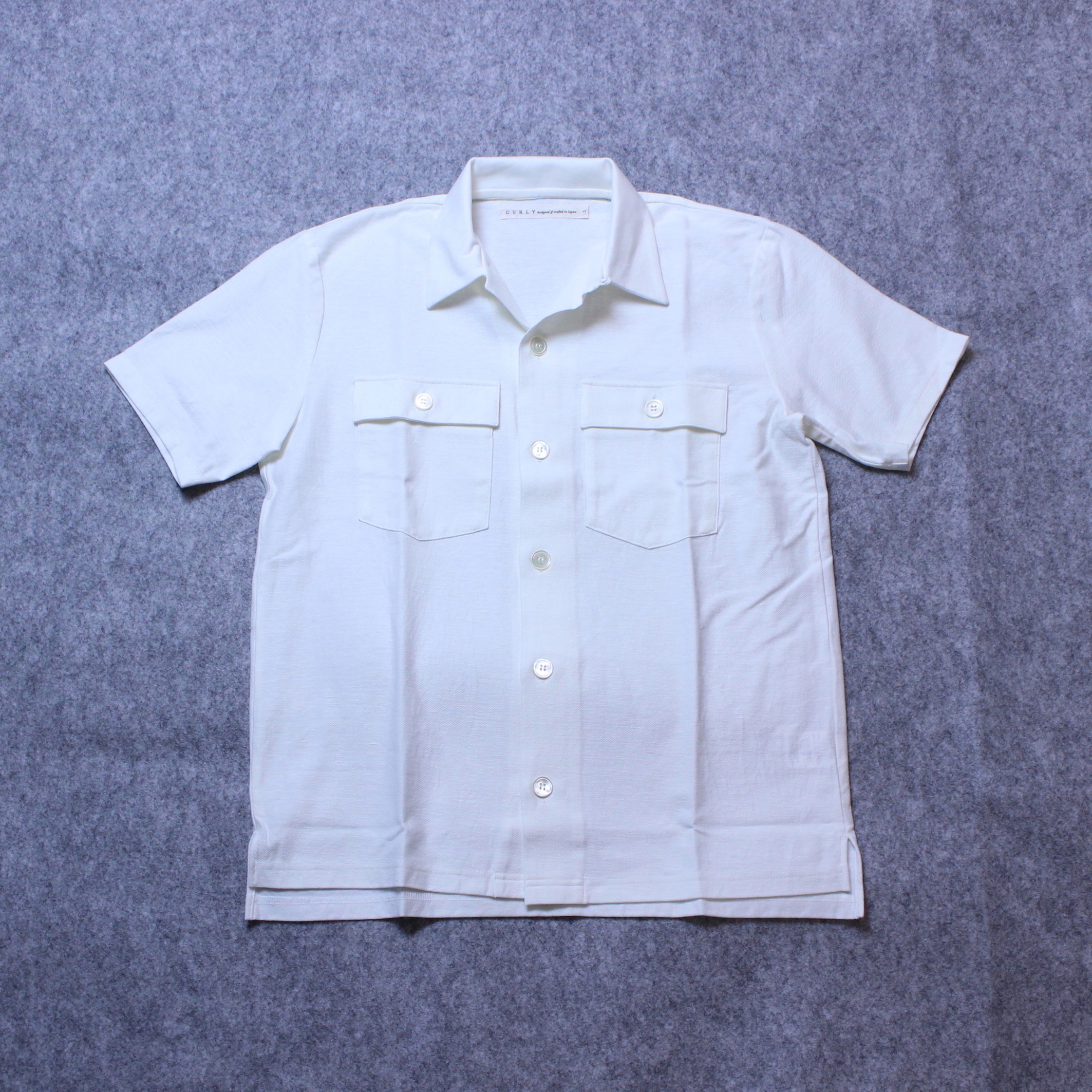 "【STOCK SALE】CURLY(カーリー) ""CLOUDY SS SHIRTS"""
