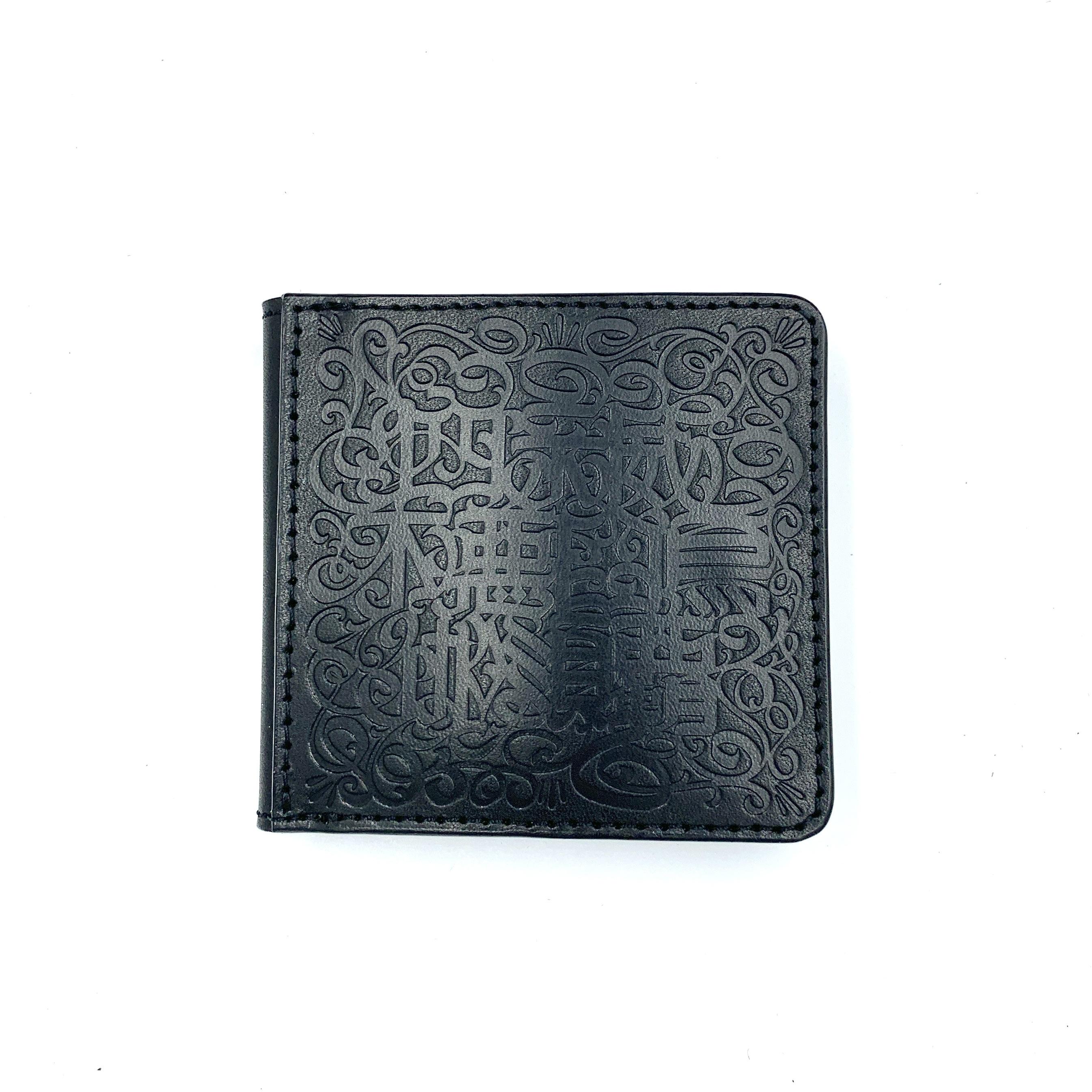 《CASPER× YONZY factory》BOX小銭入れショート財布 ブラック