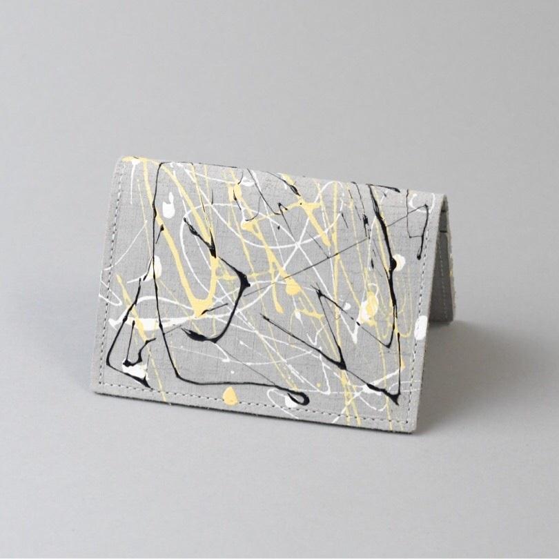カードケース □drip グレー□ ittemmono - 画像1