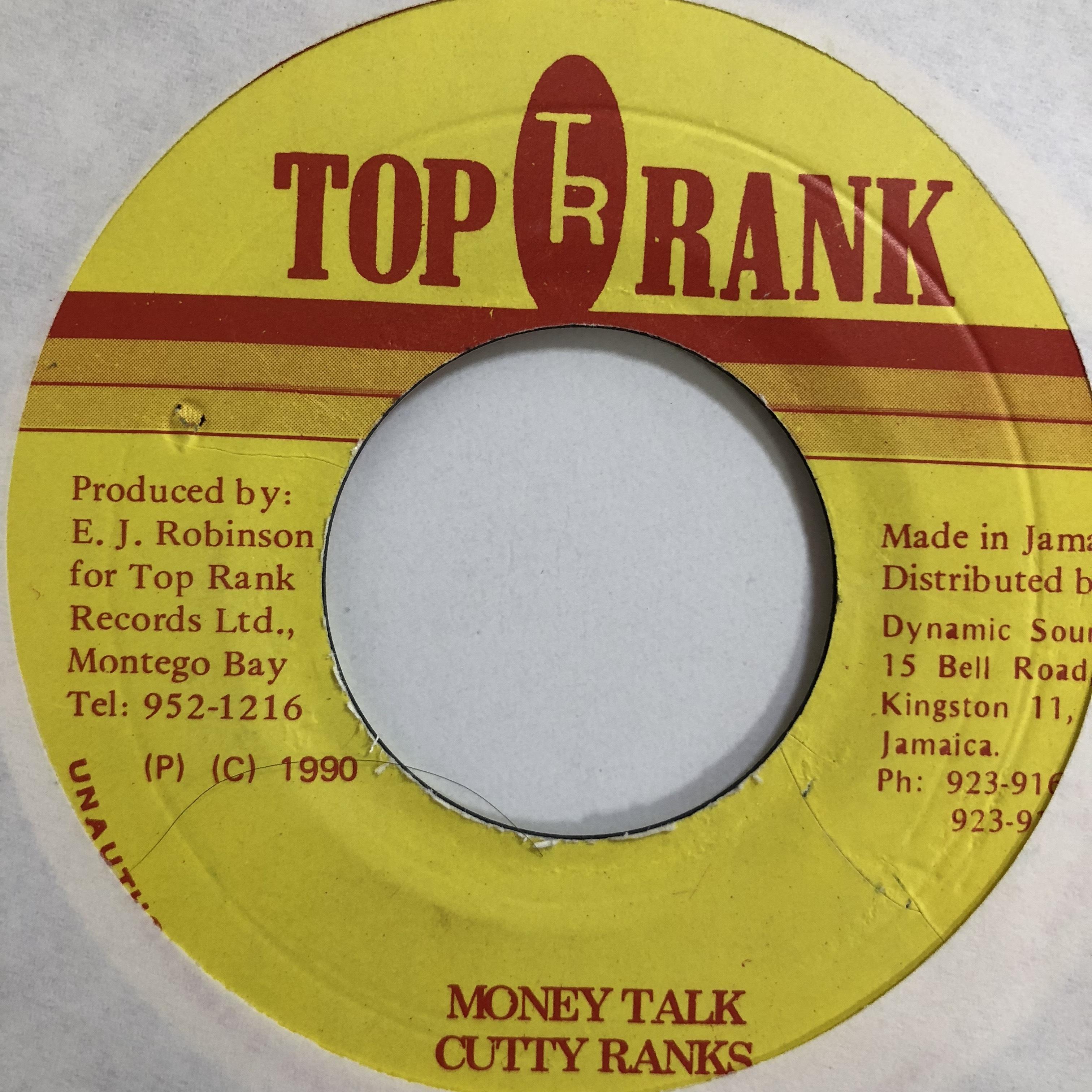 Cutty Ranks(カッティランクス) - Money Talk【7-10742】