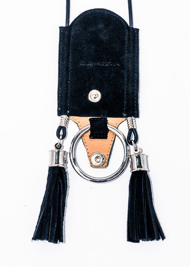nahezu≒gleich / levi necklace(blk) - 画像2