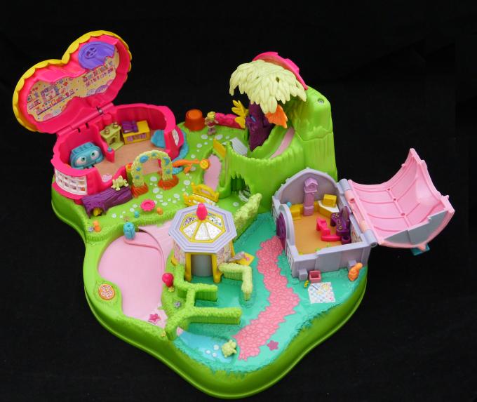 ポーリーポケット ポーリーが動きだす妖精の森 1997年 完品 +箱の一部