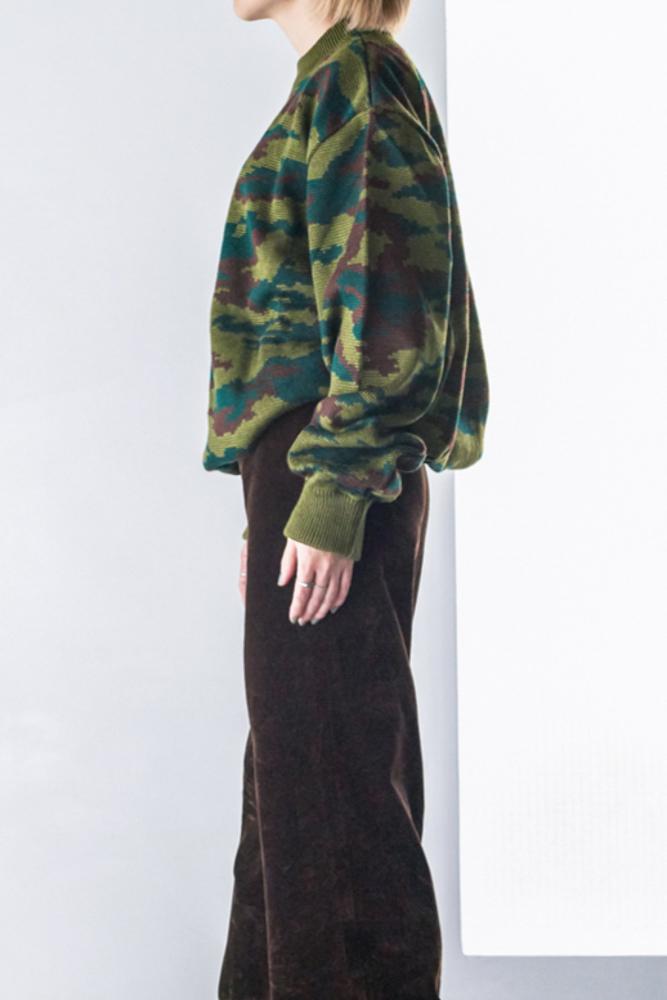 Russian Military Camo Knit