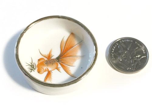 水盘 金魚