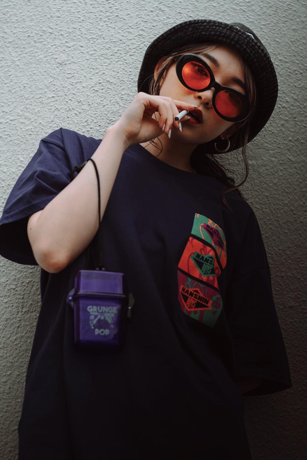 HANSHIN BOYS Tシャツ colorfulプリント