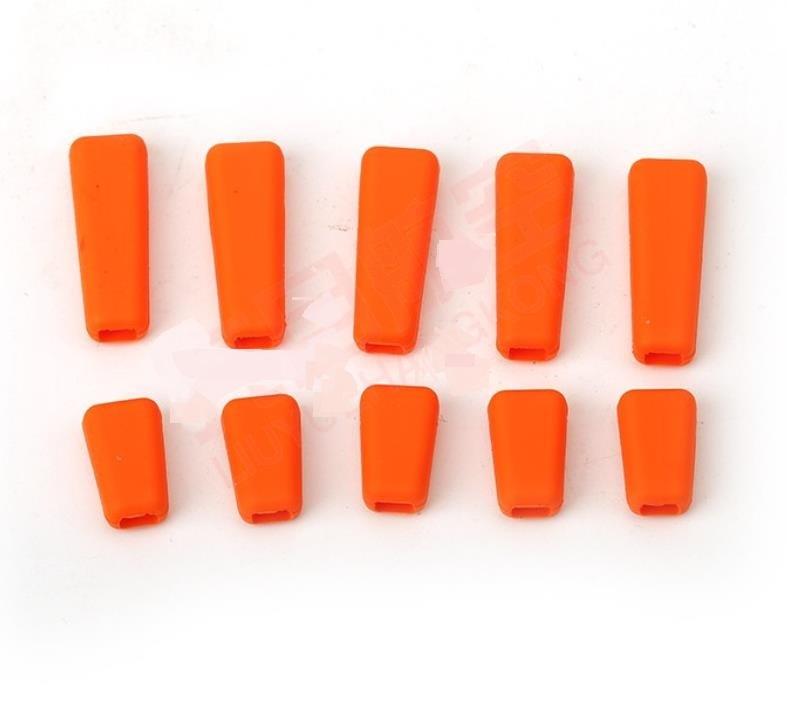 増量特価◆FUTABA&JRその他送信機 スイッチ シリコンカバー セット カラー/ オレンジ  T8FG 14SG 16SZ 18SZ 18MZ XG8 XG14など