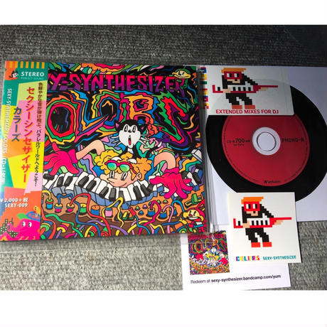 「COLORS」ステッカー&DLコード特典CD-R付き / SEXYSYNTHESIZER