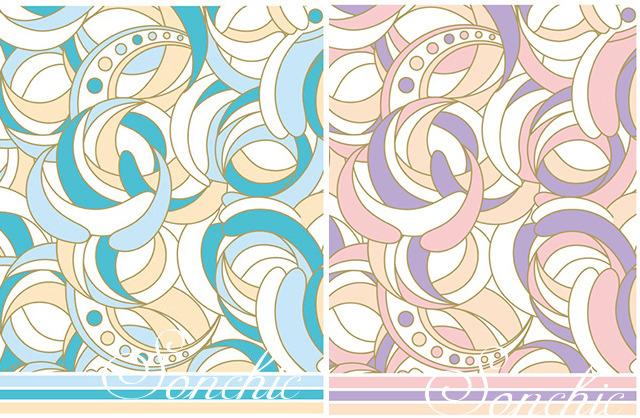 マーブル2色セット A3【割引】(ポーセリンアート用転写紙)