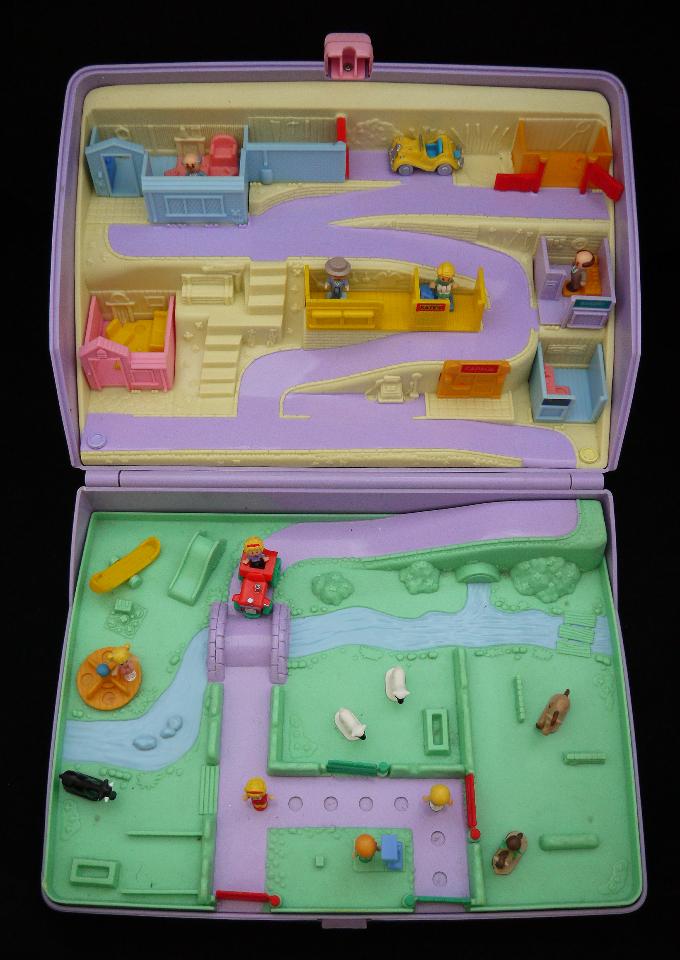 超レア!! ポーリーポケット ジュエルケース 1989年 完品