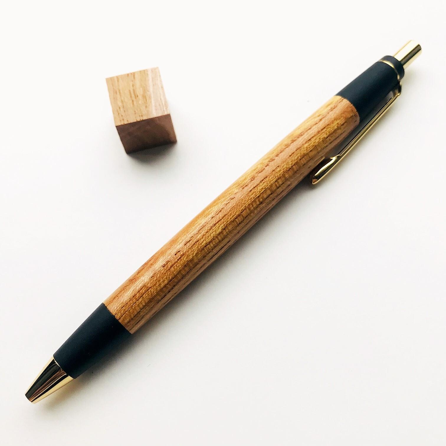 木のシャーペン【ケヤキ】