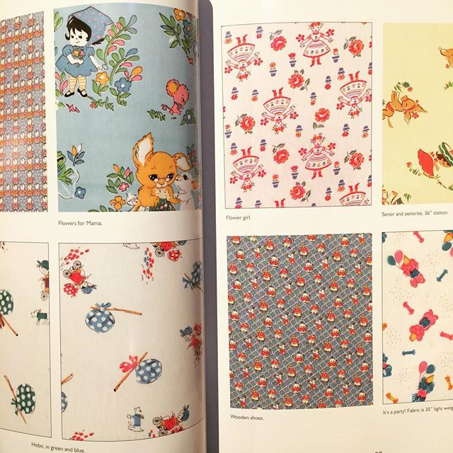 コレクションブック「Vintage Children's Fabrics」 - 画像2