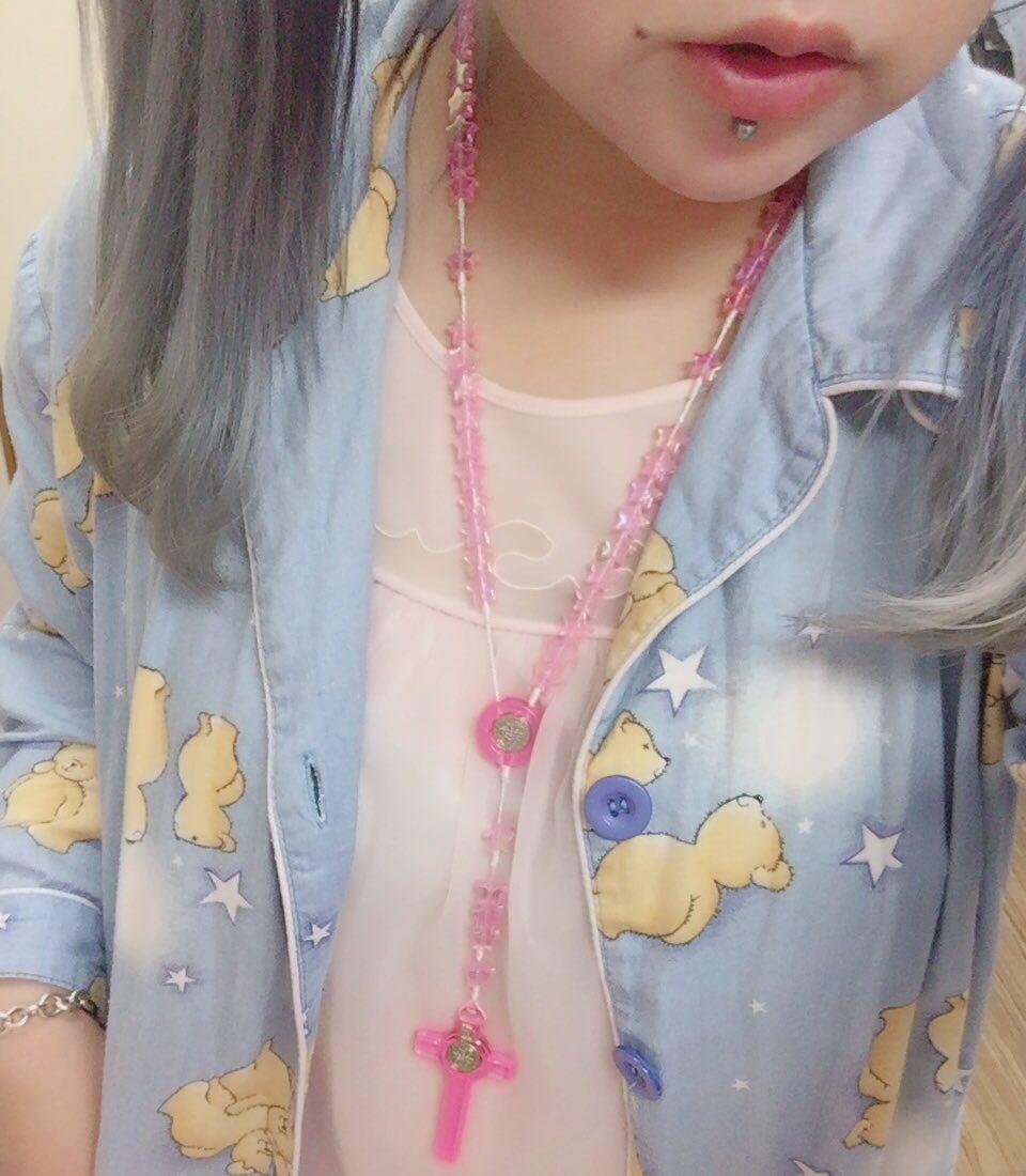 【在庫あり】オーロラロザリオネックレス