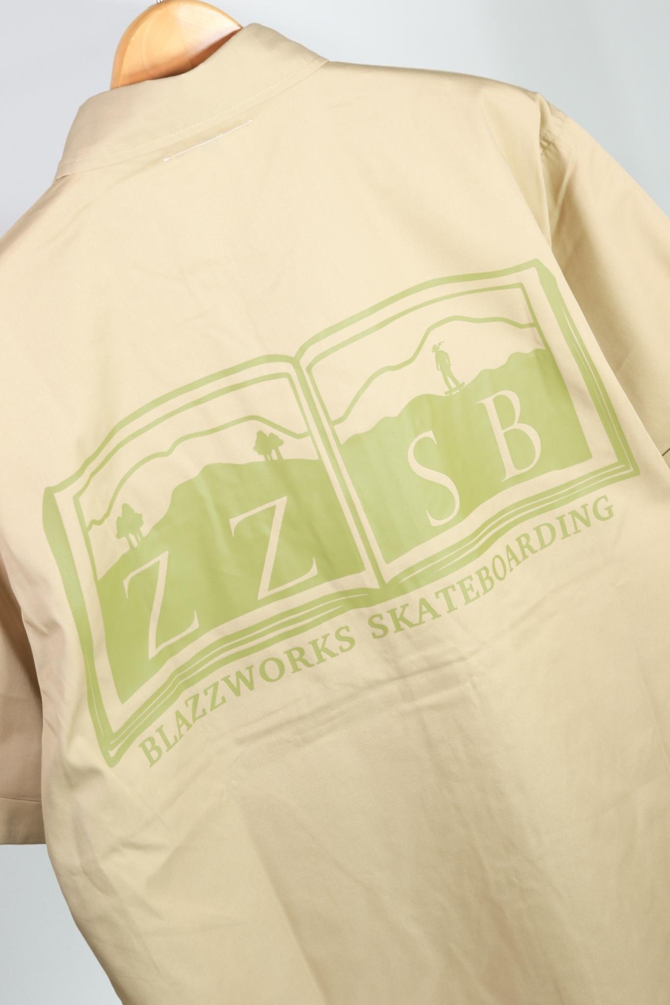 ZZSB DICTIONARY T/C WORK SHIRT [MOCA]