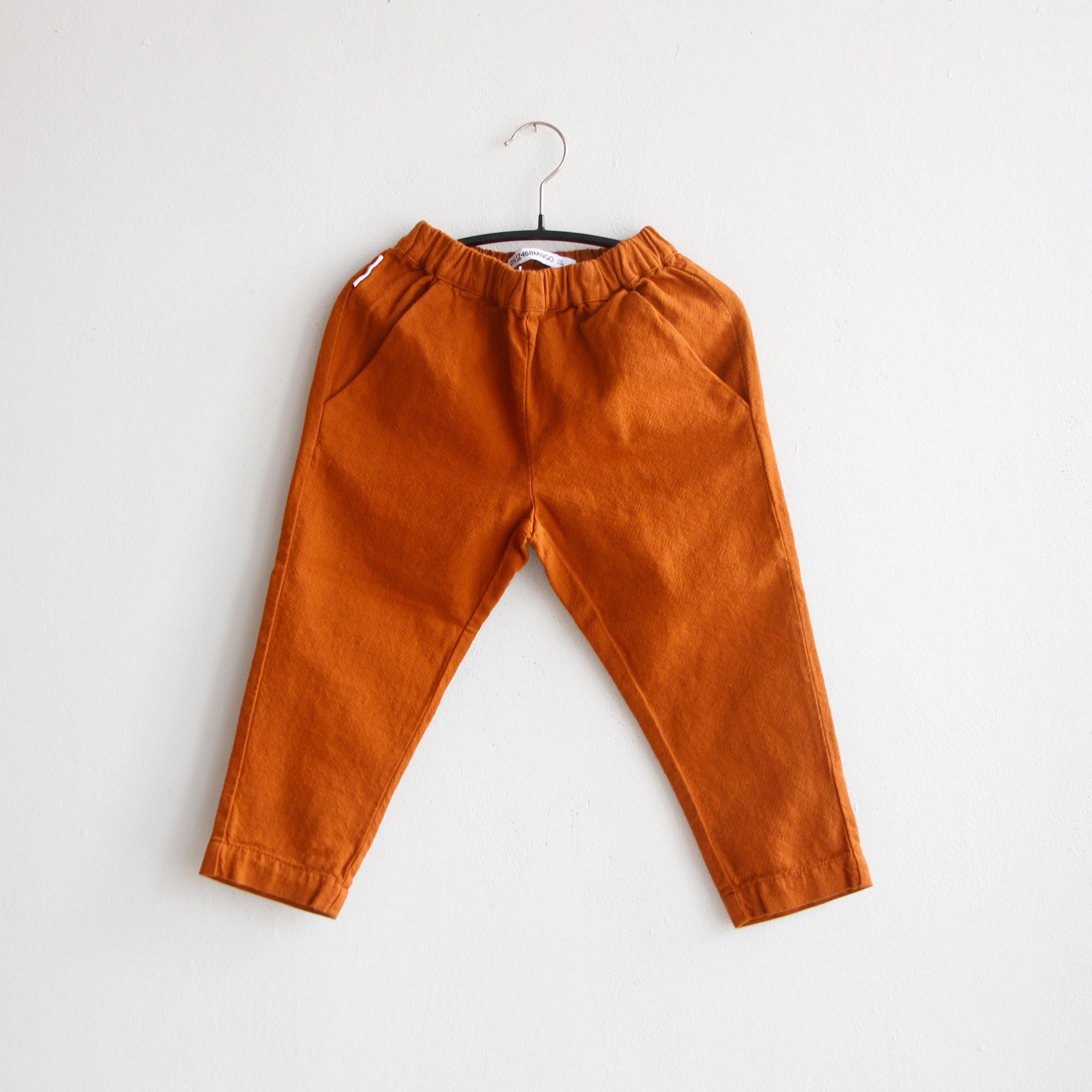 《MINGO. 2020AW》Tapered Trouser / Dark Ginger