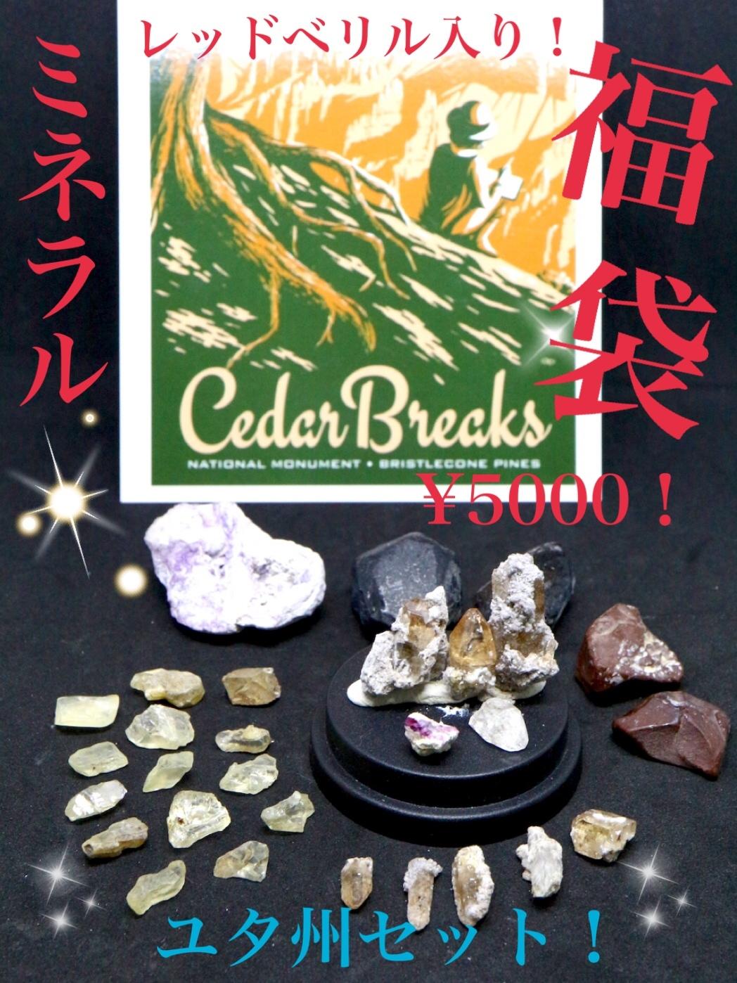 ¥5000福袋!【ユタ州セット】② FUKU002