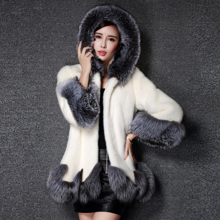 【アウター】ファッションフード付き合わせやすい人気ファーコート14949593