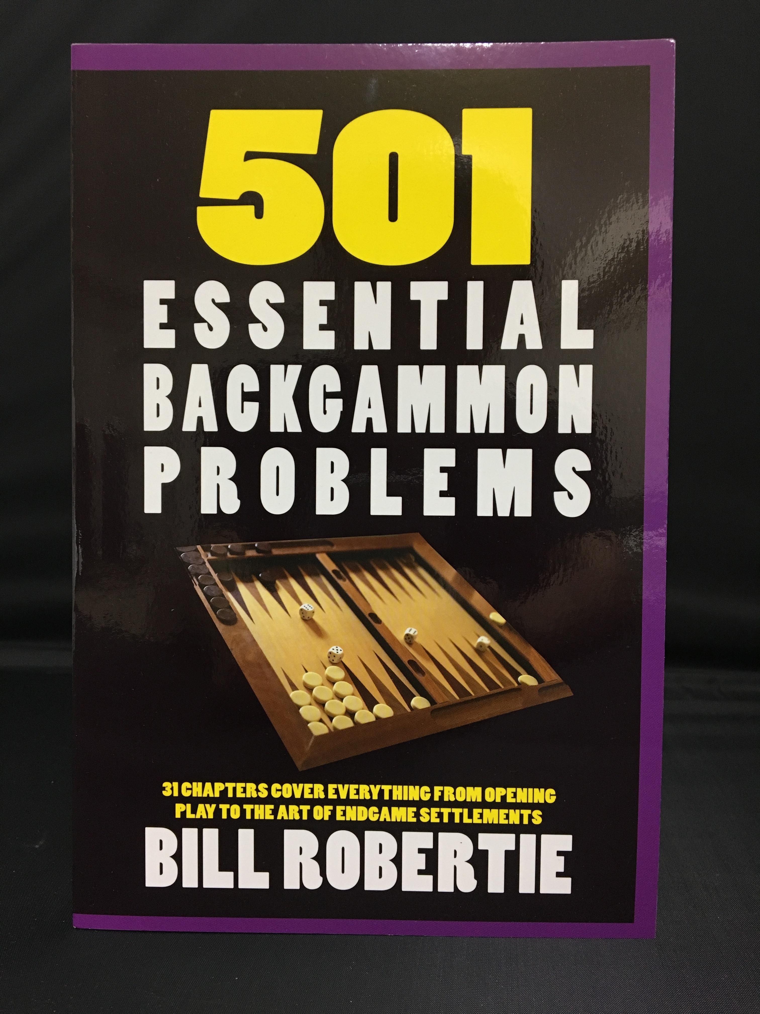 新版 501 ESSENTIAL BACKGAMMON PROBLEMS(日本語訳付き)