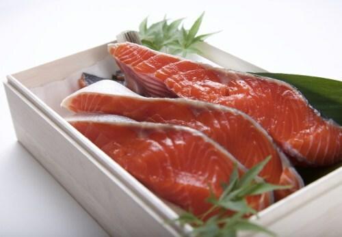 (贈答用)超希少 北海道産の紅鮭 五切れセット