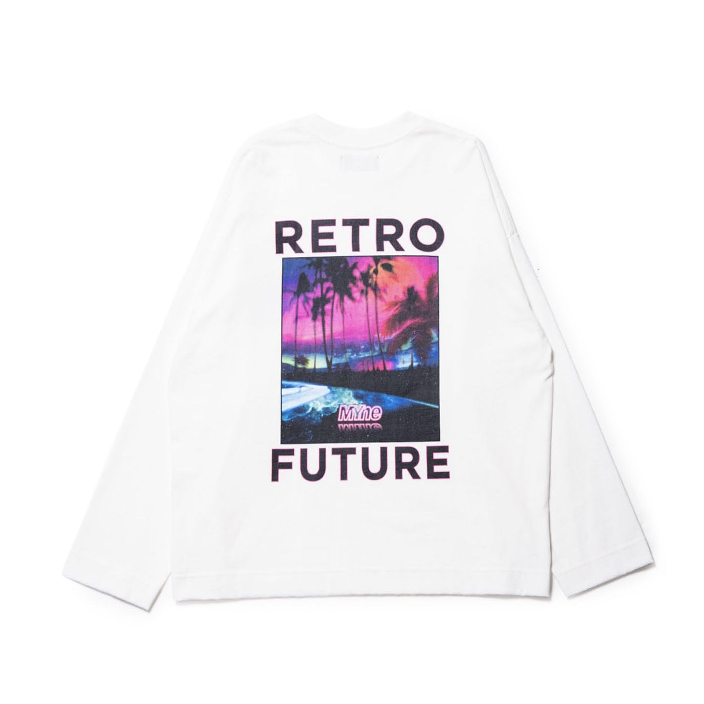 RETRO FUTURE L/S T-shirt / WHITE - 画像2