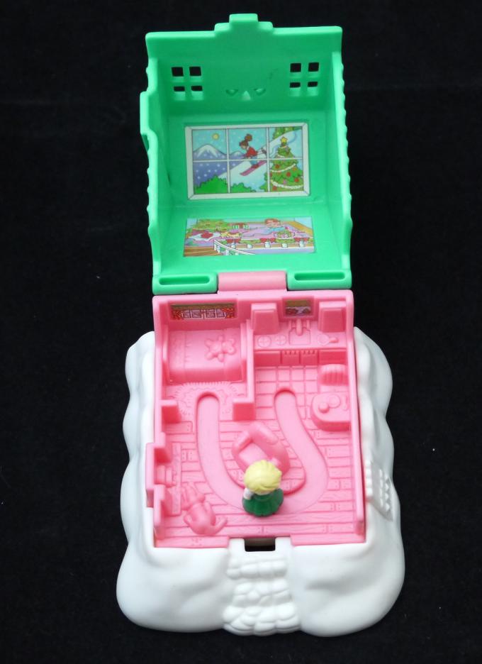 1995年 ポーリーポケット マクドナルド・おうち