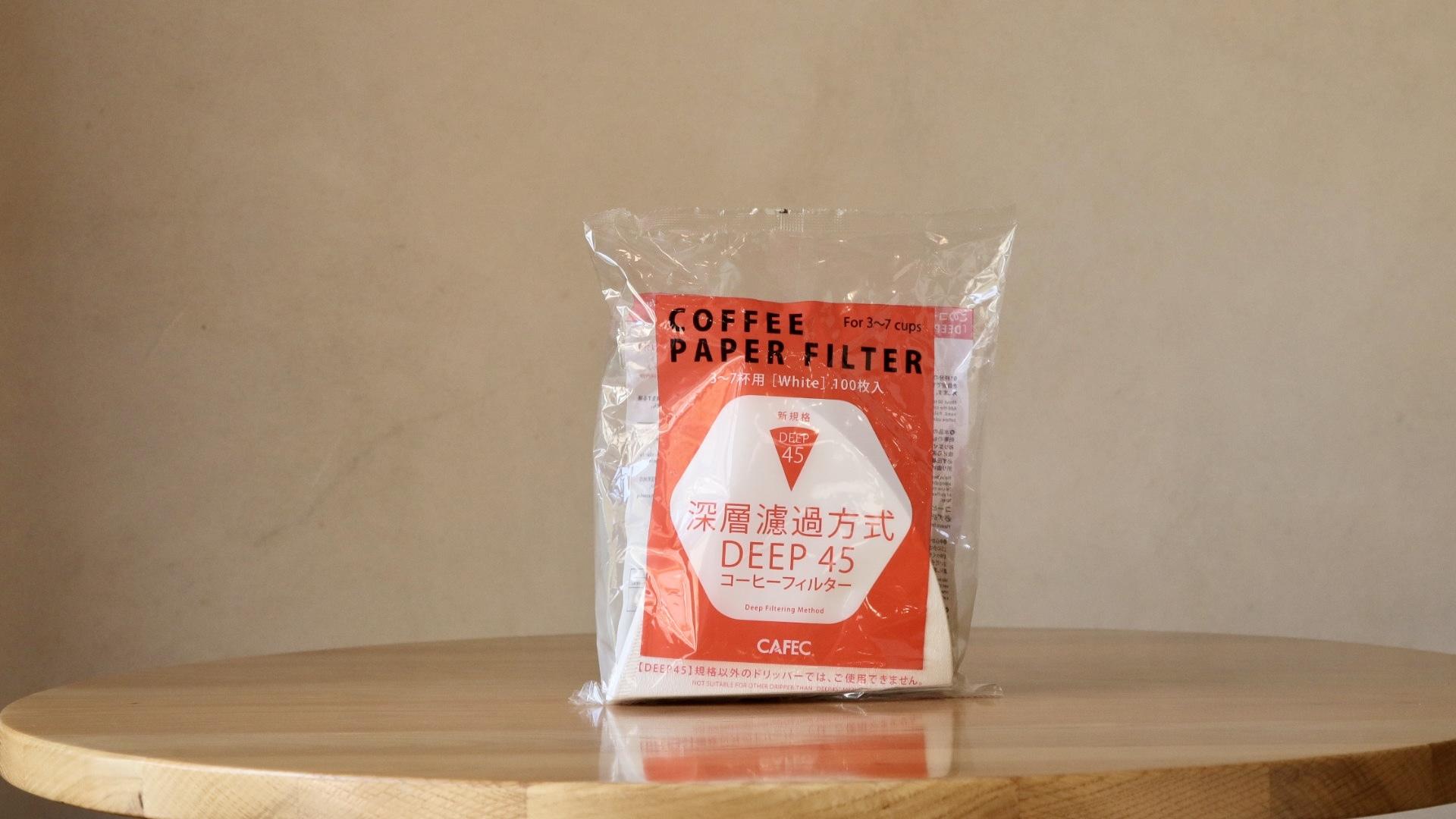 (3-7杯用)deep dripper pro 専用 コーヒーフィルター(100枚入)