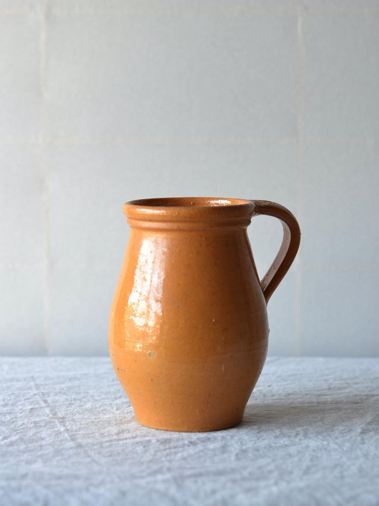 antique | マスタードポット-mastard handle pot