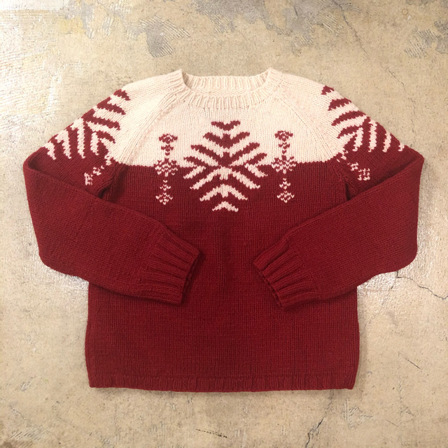 Snowflake Sweater ¥5,900+tax