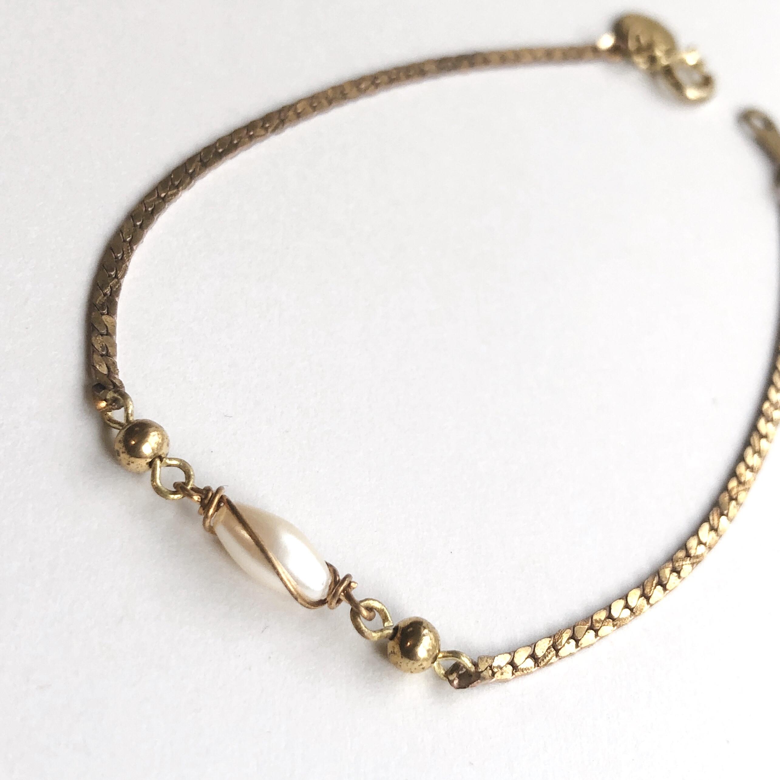 Pearl motif bracelet BT-014