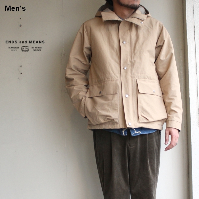 ENDS and MEANS  Sanpo Jacket EM182J004 (ベージュ)