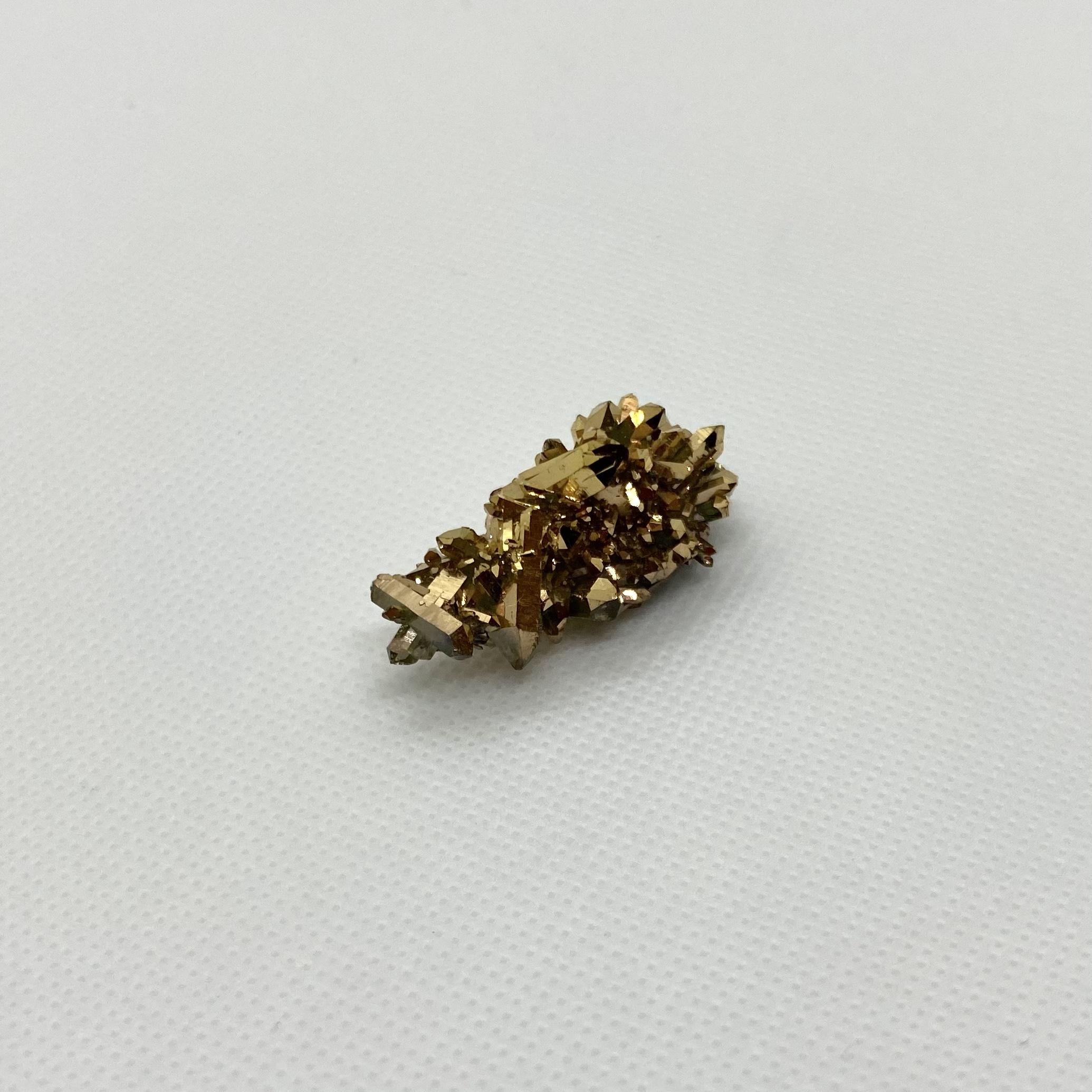 ゴールデンクリスタルクラスター(金運上昇)